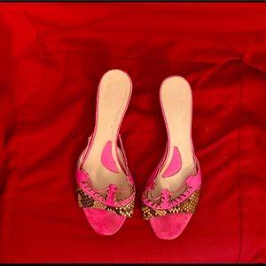 Alessandro Dell'Acqua sandals. Pink. Size 37.5